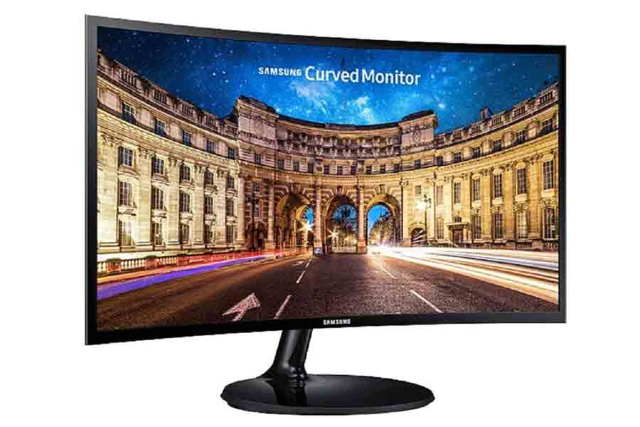 Samsung LC24F390FHWXND curved monitor