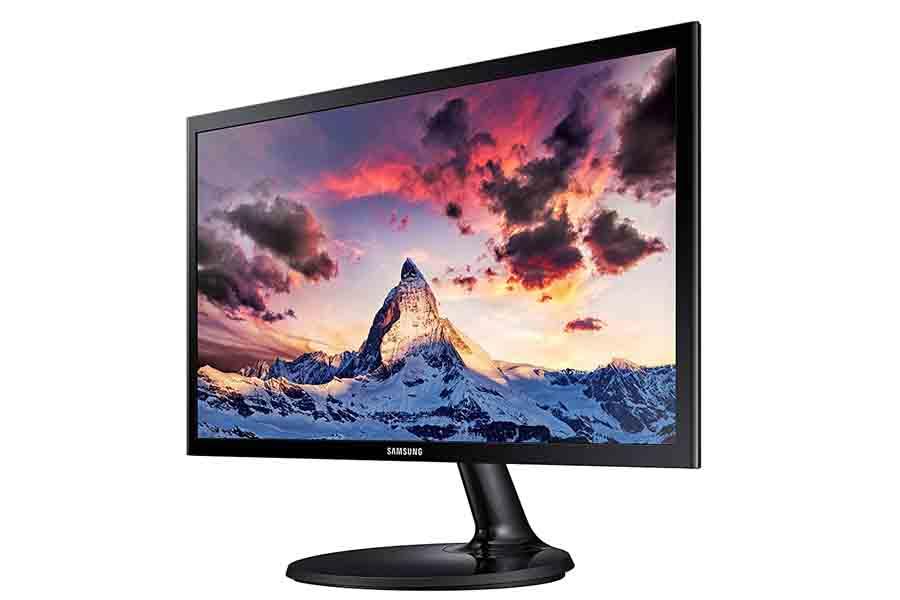 Samsung S19F350HNW monitor 19-inch