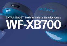 Sony WF-XB700 truly wireless earphones launched