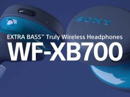 Sony WF-XB700 truly wireless earphones launched