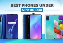 best mobile phones under 40000 nepal