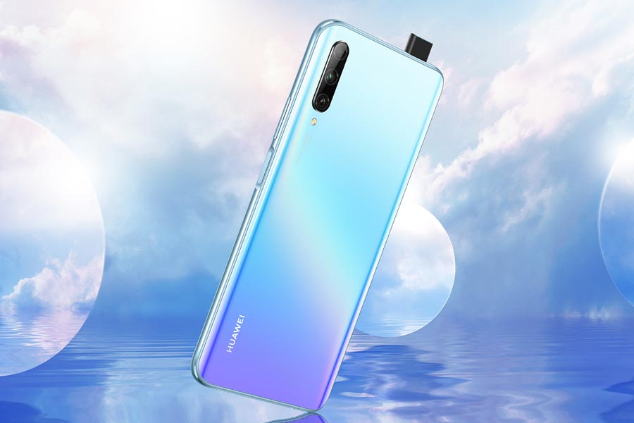 huawei y9s design back view