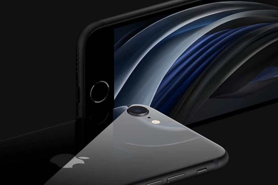 iPhone SE 2 Design black color touch id price nepal