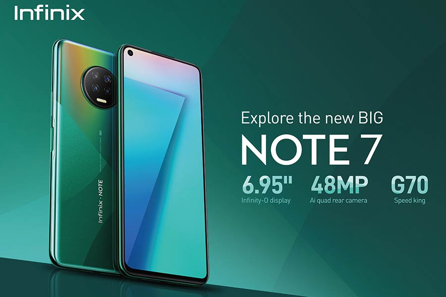 infinix note 7 specs design display