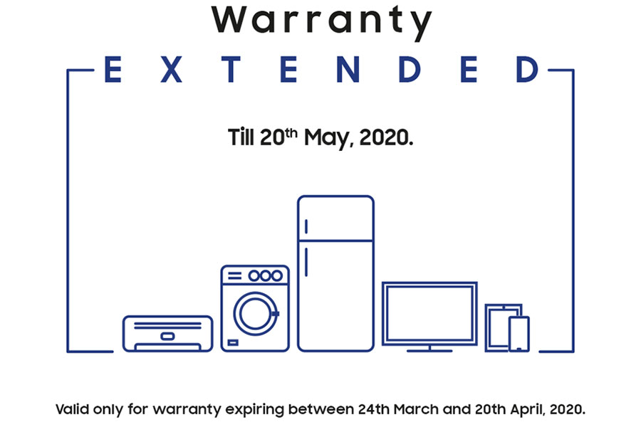 samsung warranty extended nepal