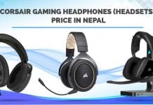 Corsair Gaming Headphones Price in Nepal headsets specs availability