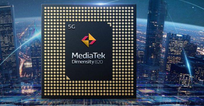 MediaTek Dimensity 820 announced mdeiatek 5g processor midrange