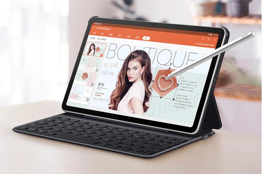 Honor Tablet V6 design magic pencil keyboard