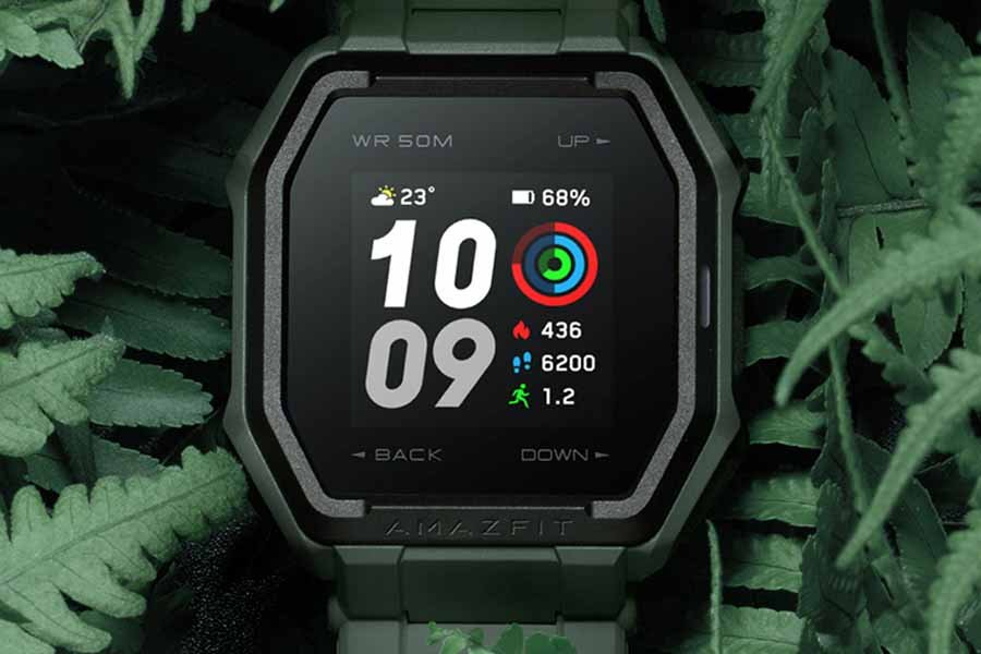 Huami Amazfit Ares display smartwatch