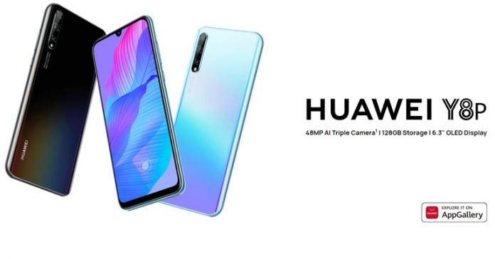 Huawei Y8p price in Nepal specifications features availability