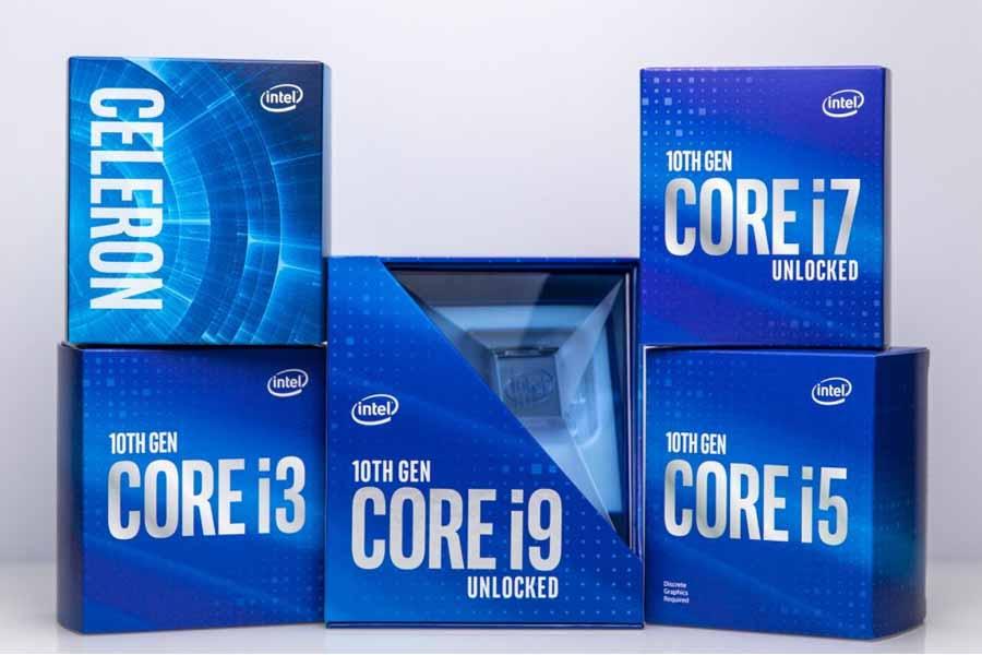 Intel 10th gen Desktop Processors Core i3 i5 i7 i9