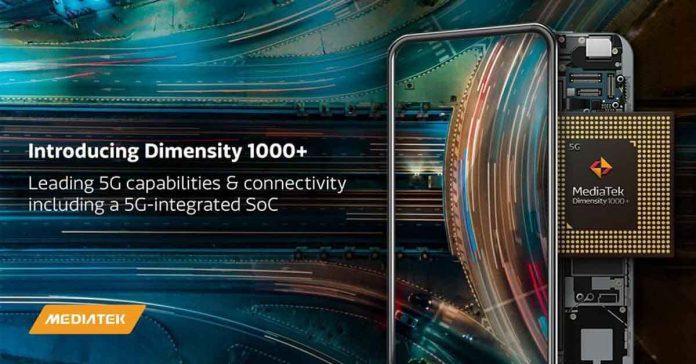 MediaTek Dimensity 1000 Plus 5G SoC anounced 1000+ chipset
