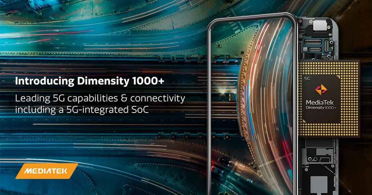 MediaTek Dimensity 1000 Plus 5G announced: Specs, features, & more