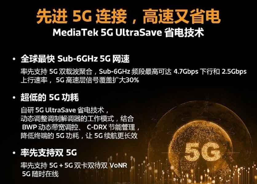 MediaTek Dimensity 1000 Plus - 5G UltraSave