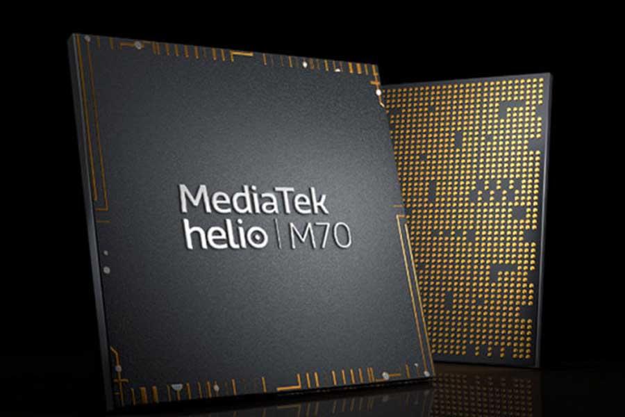 MediaTek Helio M70 5G integrated modem