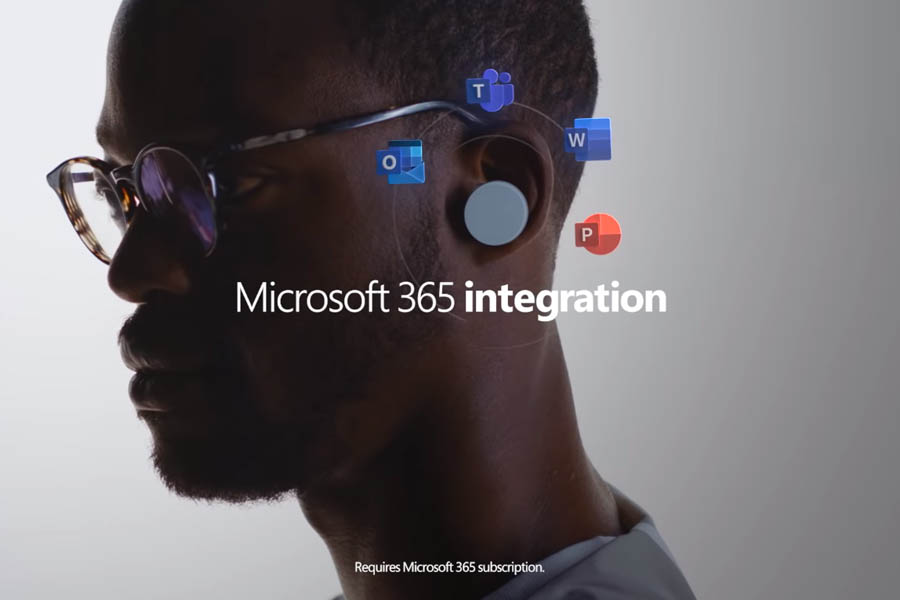 Microsoft Surface Earbuds - Microsoft Office 365 Integration