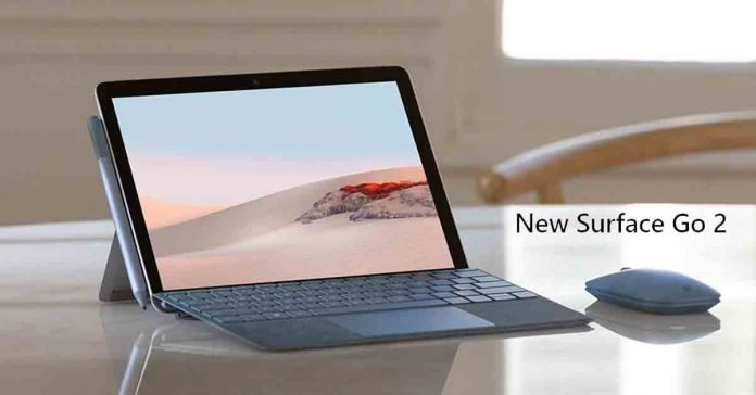 Microsoft Surface Go 2 launched specs price nepal availability