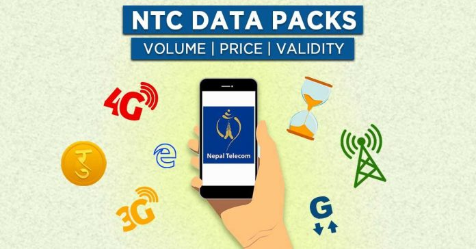NTC Data packs price internet packages plans 4g