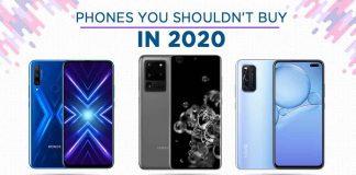 Phones not to buy in 2020 overrated smartphones