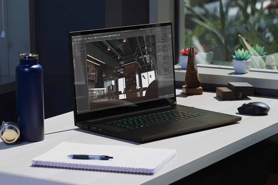 Razer Blade Pro 17 2020 for content creators