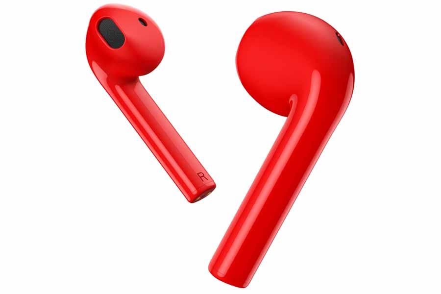 Realme Buds Air Neo design pop red