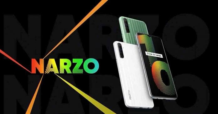 Realme Narzo 10 launched specs price nepal launch availability