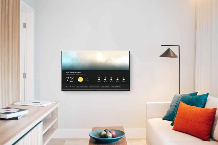 Realme Smart TV lifetyle shot wall mount