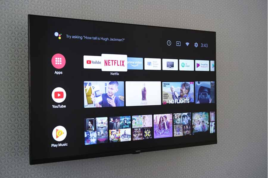 Realme Smart TV pre-installed streaming services