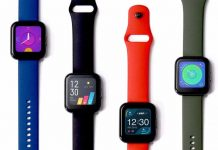 Realme Watch launched specs price in nepal availability features