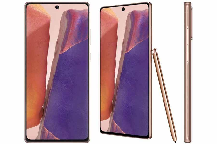 Samsung Galaxy Note 20 - Display, S Pen