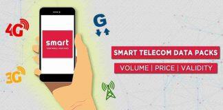 Smart Telecom Data Packs price volume validity internet plans rates