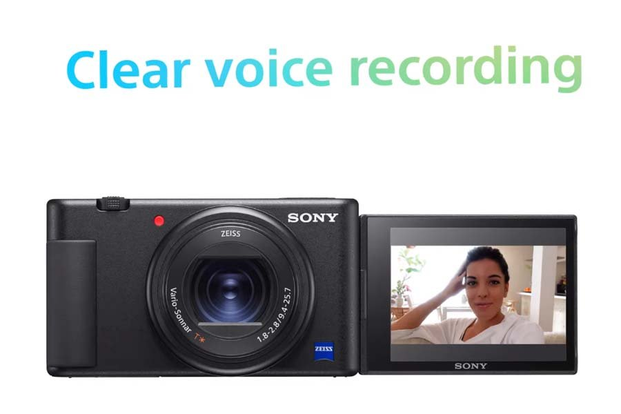 Sony ZV-1 Camera - Voice Recording