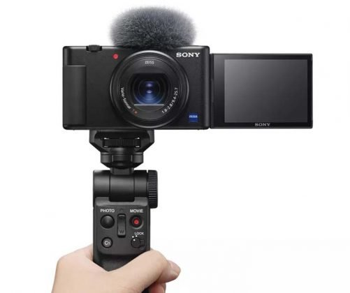 Sony ZV-1 Camera - With Grip
