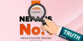 Xiaomi Number 1 Smartphone Brand in Nepal - The Truth
