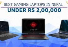 best gaming laptops in nepal under 2 lakhs
