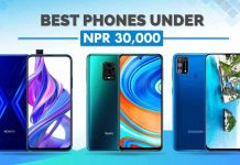 Best smartphones under NPR 30000 in Nepal