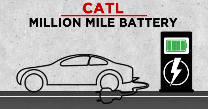 CATL Million Mile Battery Tesla EV