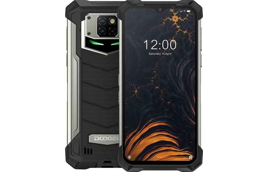 Doogee S88 Pro design