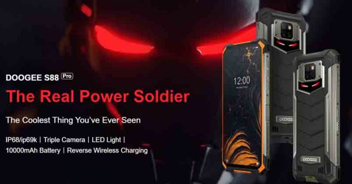 Doogee S88 Pro launched specs price nepal availability