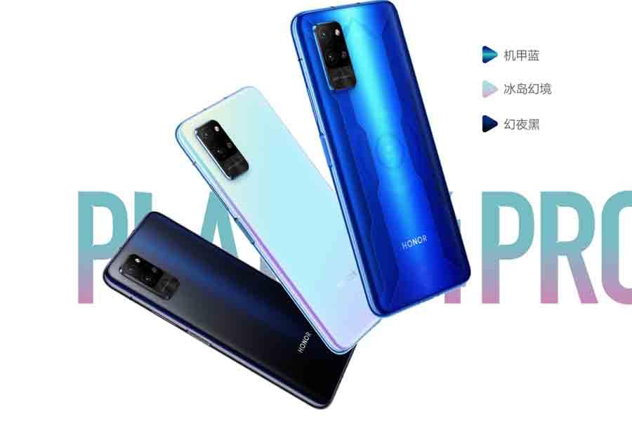 Honor Play 4 Pro 5G design