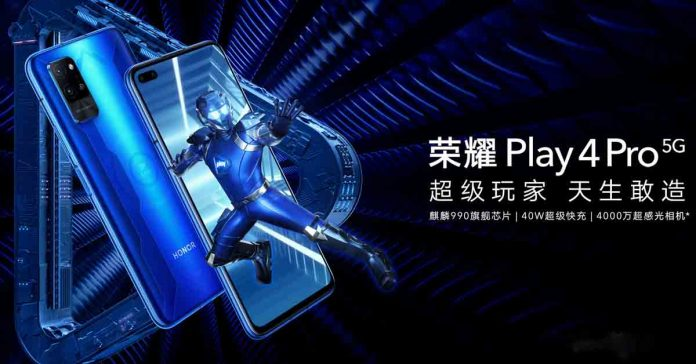 Honor Play 4 Pro 5G launched specs price in nepal availability