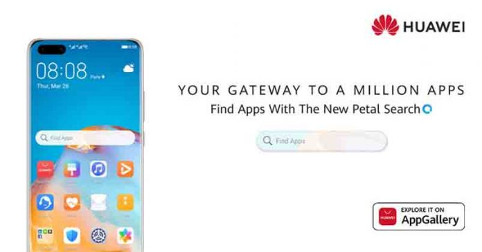 Huawei launches Petal Search Find Apps