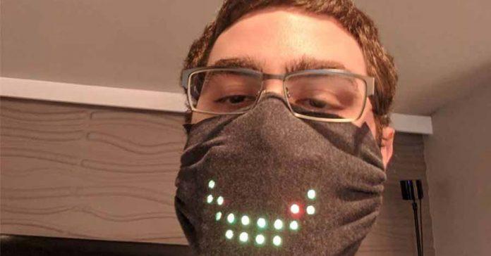 LED face mask COVID-19