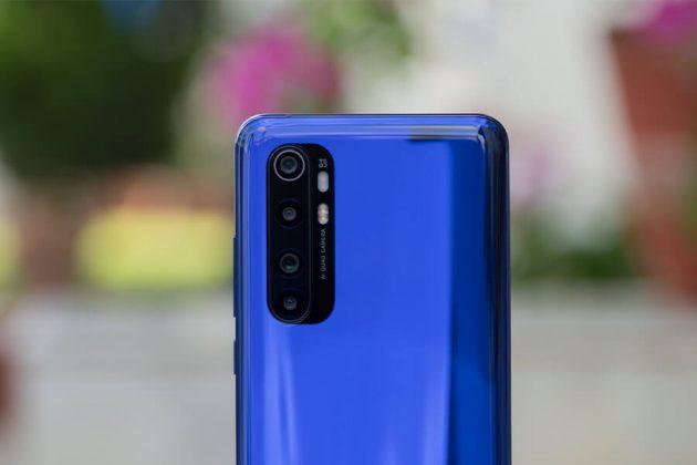 Mi Note 10 Lite - Back Cameras