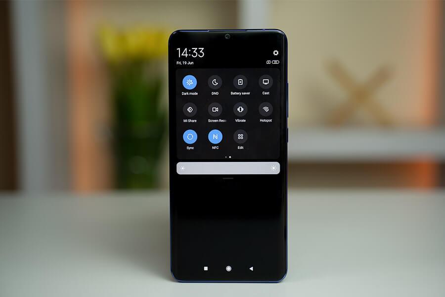 Mi Note 10 Lite - Dark Mode