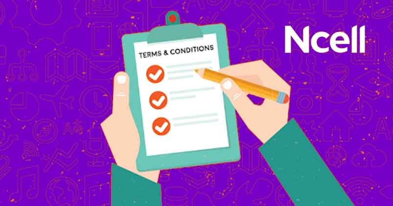Ncell Terms & Conditions