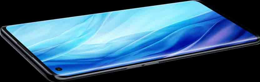 Oppo Reno4 Pro Global Variant curved screen design