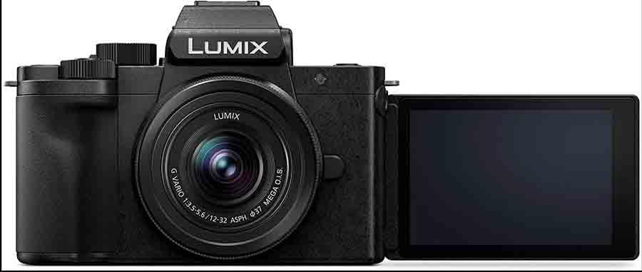 Panasonic Lumix G100 design