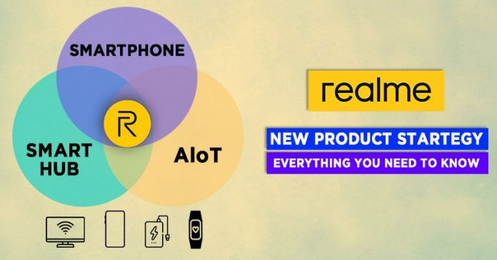 Realme new product strategy 1+4+N