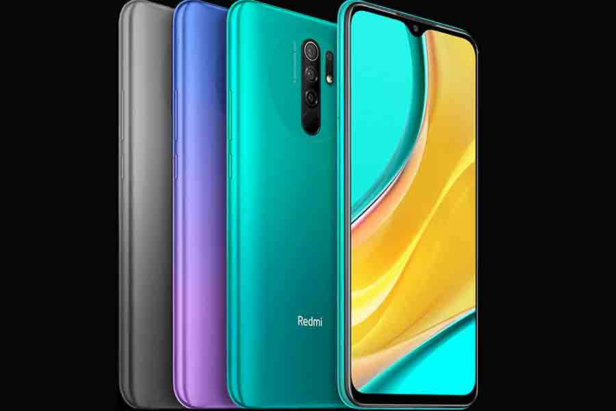 Redmi 9 design and display